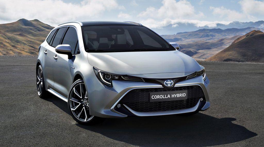 Toyota Corolla TS - przód