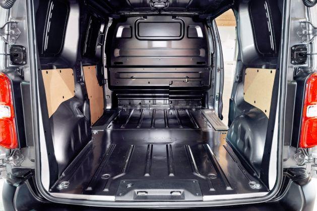 Toyota ProAce - przestrzeń ładunkowa