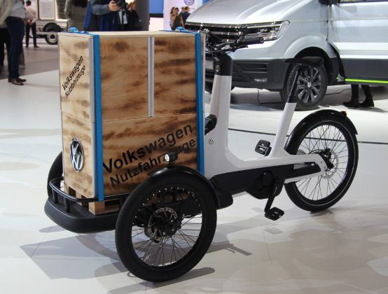 Uzytkowy rower Volkswagena