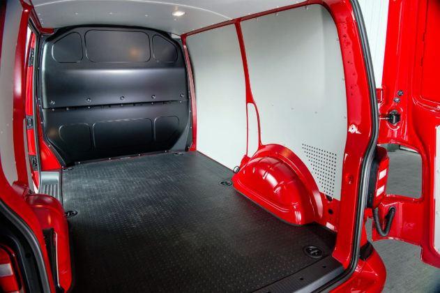 Vokswagen Transporter - przestrzeń ładunkowa