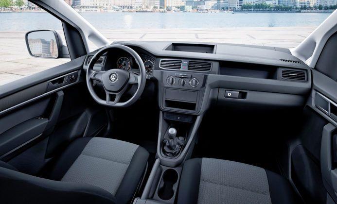 Volkswagen Caddy - deska rozdzielcza