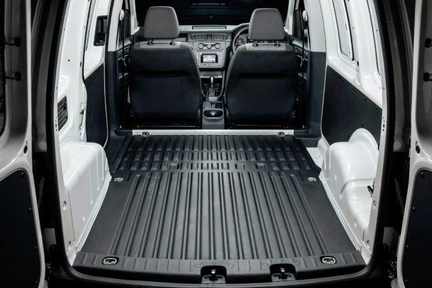 Volkswagen Caddy - przestrzeń ładunkowa