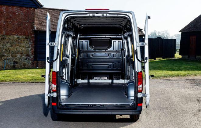 Volkswagen Crafter - przestrzeń ładunkowa