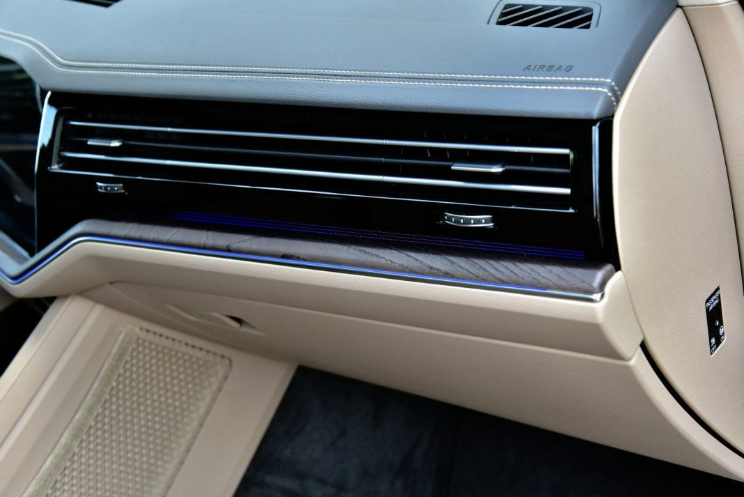 Volkswagen Touareg - oświetlenie