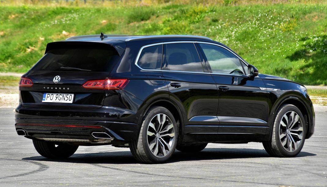 Volkswagen Touareg - tył