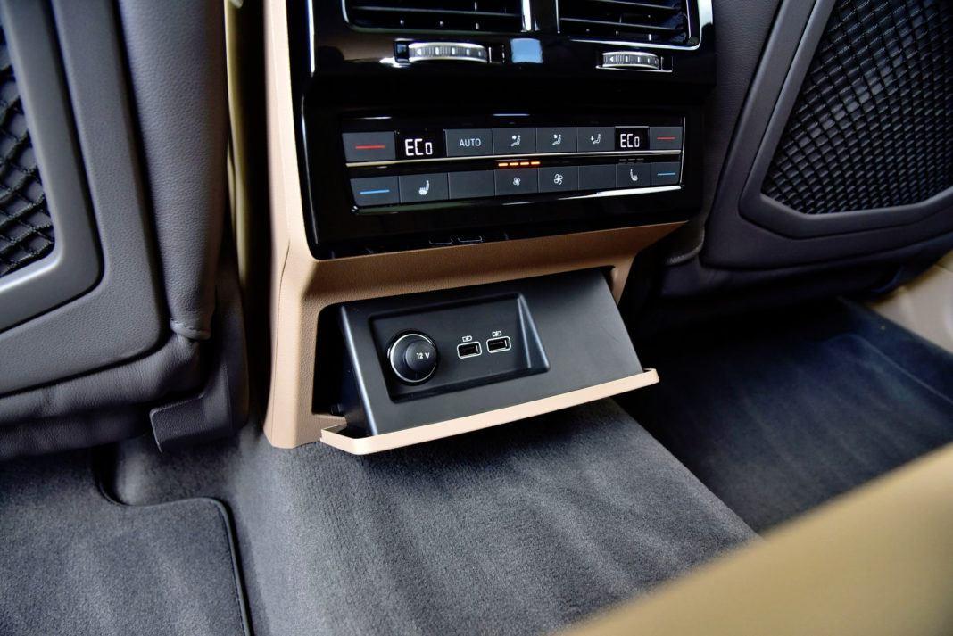 Volkswagen Touareg - wejścia