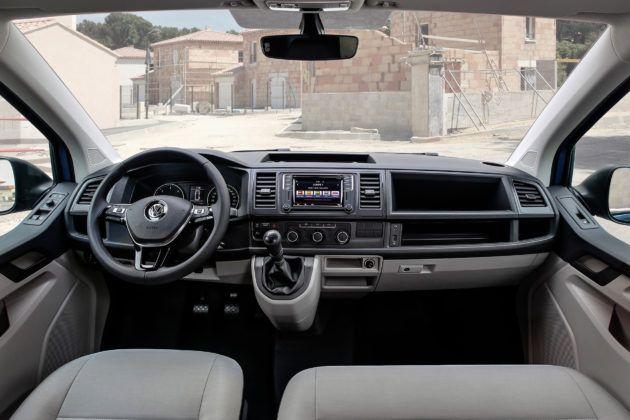 Volkswagen Transporter - deska rozdzielcza