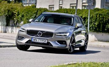 Volvo V60 - dynamiczne