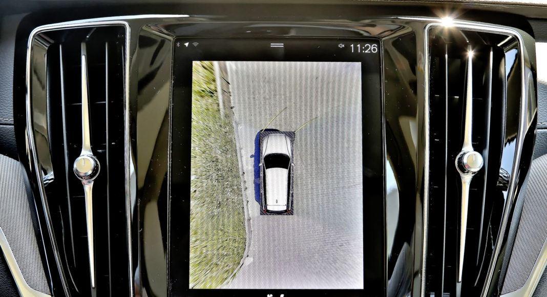 Volvo V60 - ekran centralny