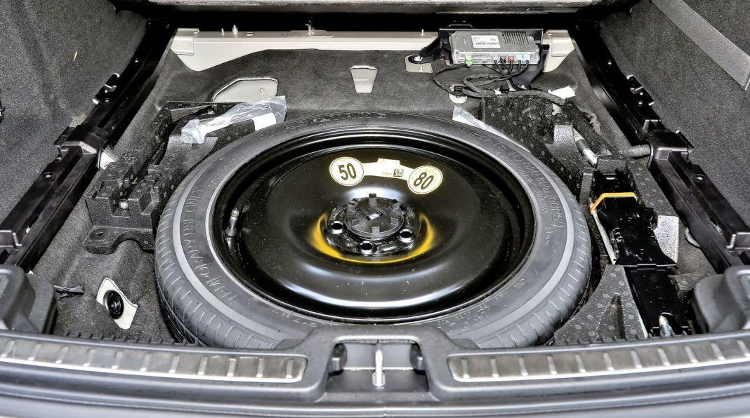 Volvo V60 - koło zapasowe