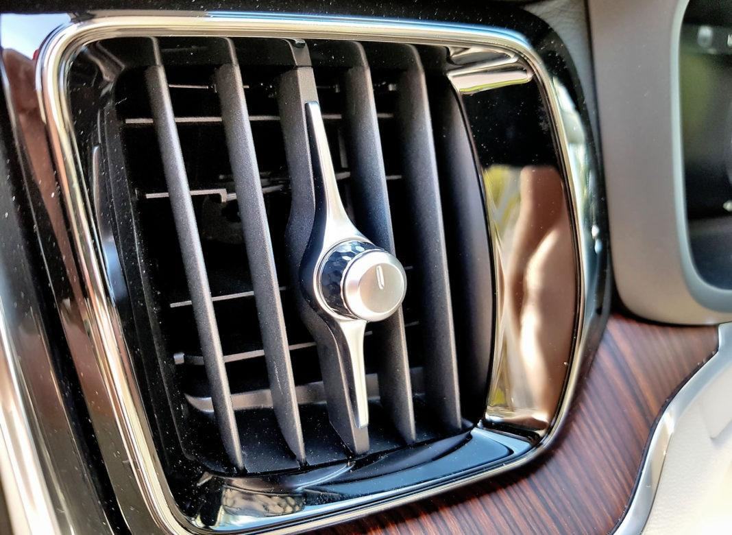 Volvo V60 - nawiewy