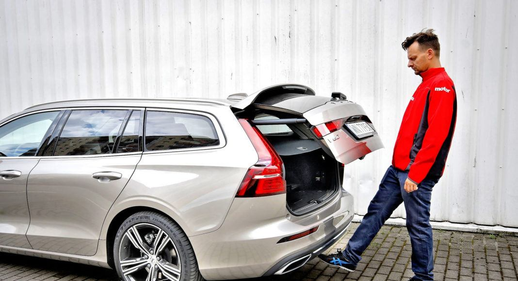 Volvo V60 - otwieranie bagażnika