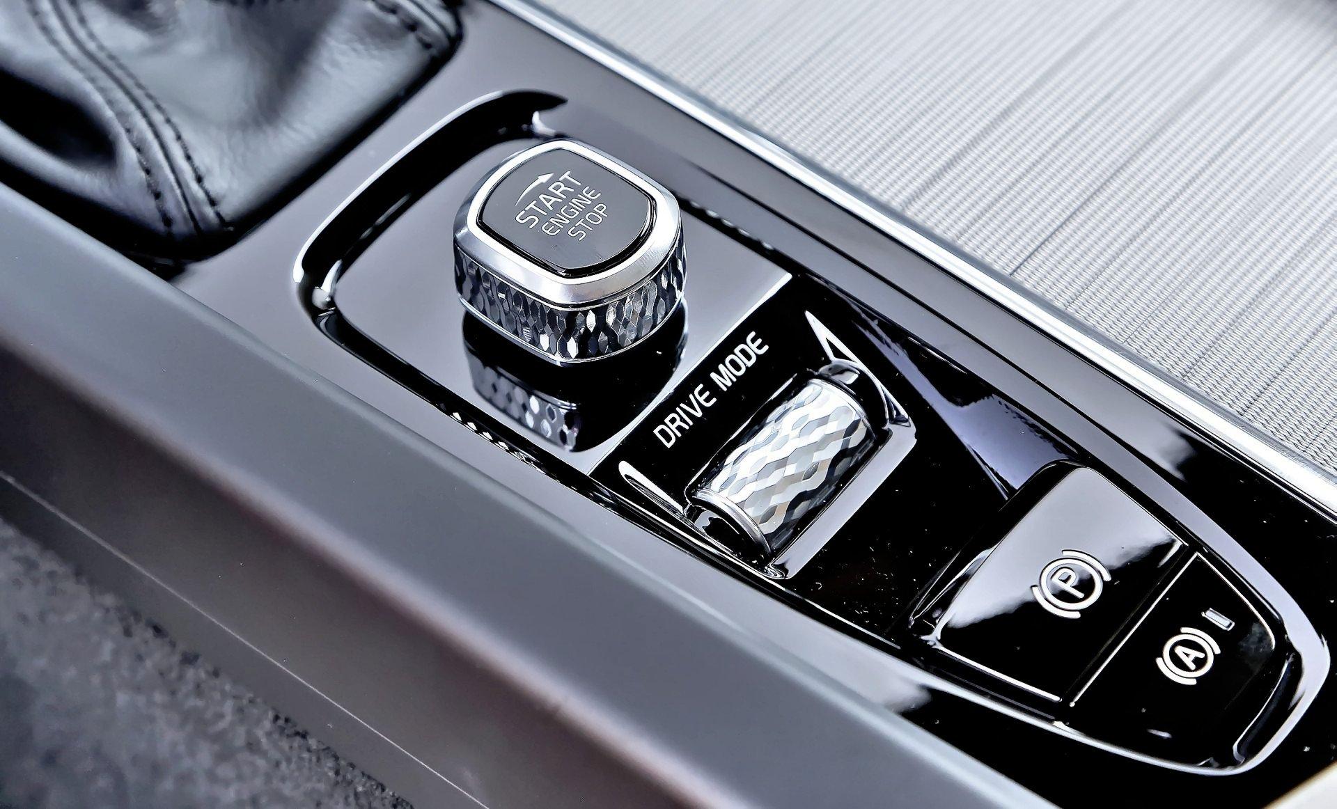 Volvo V60 - pokrętła
