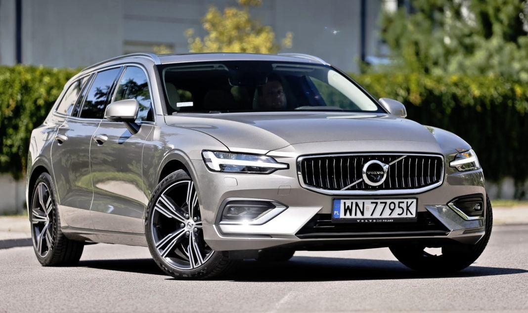Volvo V60 - przód