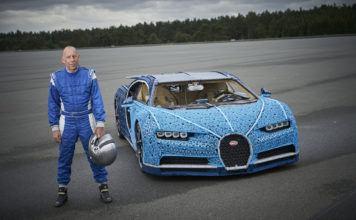 Bugatti Chiron z Lego