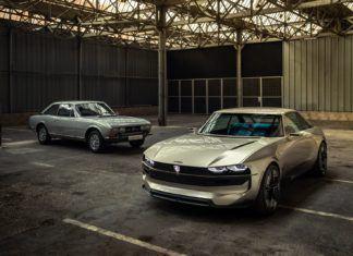Koncepcyjny Peugeot e-Legend – elektryczne coupe w stylu retro