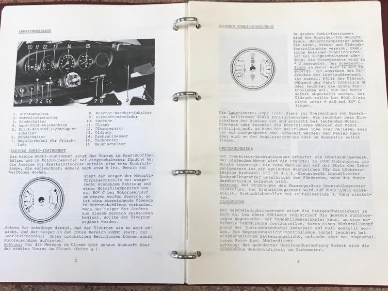 Porsche 911 3.0 RSR - instrukcja