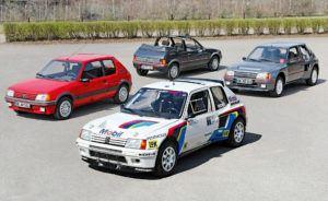 Peugeoty 205