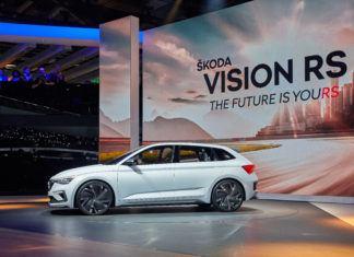 Skoda Vision RS – spojrzenie w przyszłość