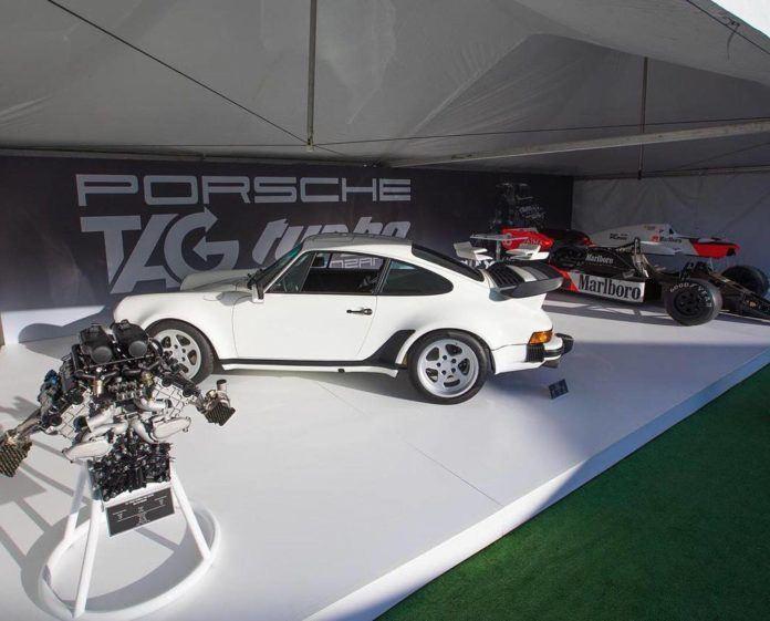 Porsche 911 930 z silnikiem TAG F1, fot. Lanzante