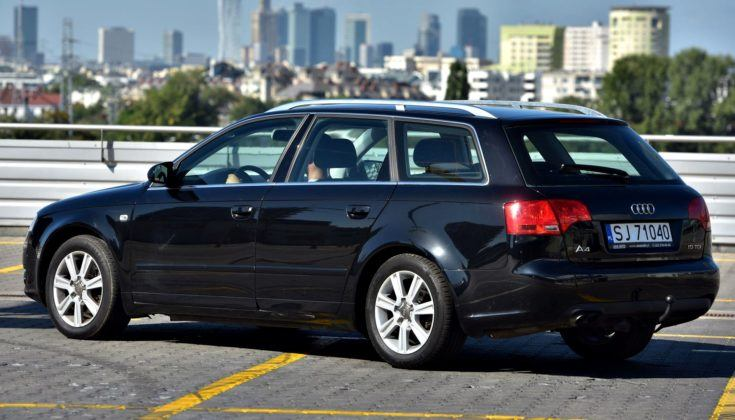 Audi A4 B7 - tył