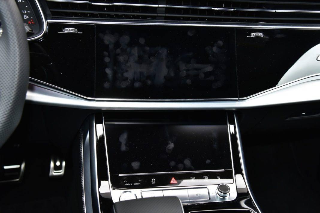 Audi Q8 - odciski palców