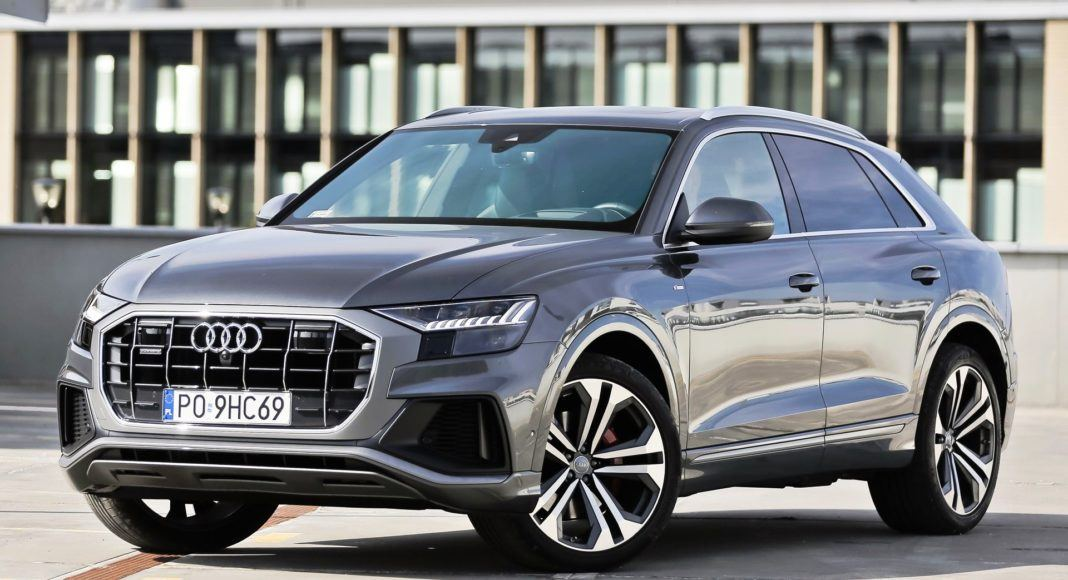 Audi Q8 - przód