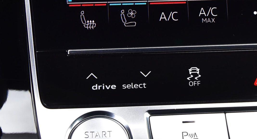 Audi Q8 - przyciski