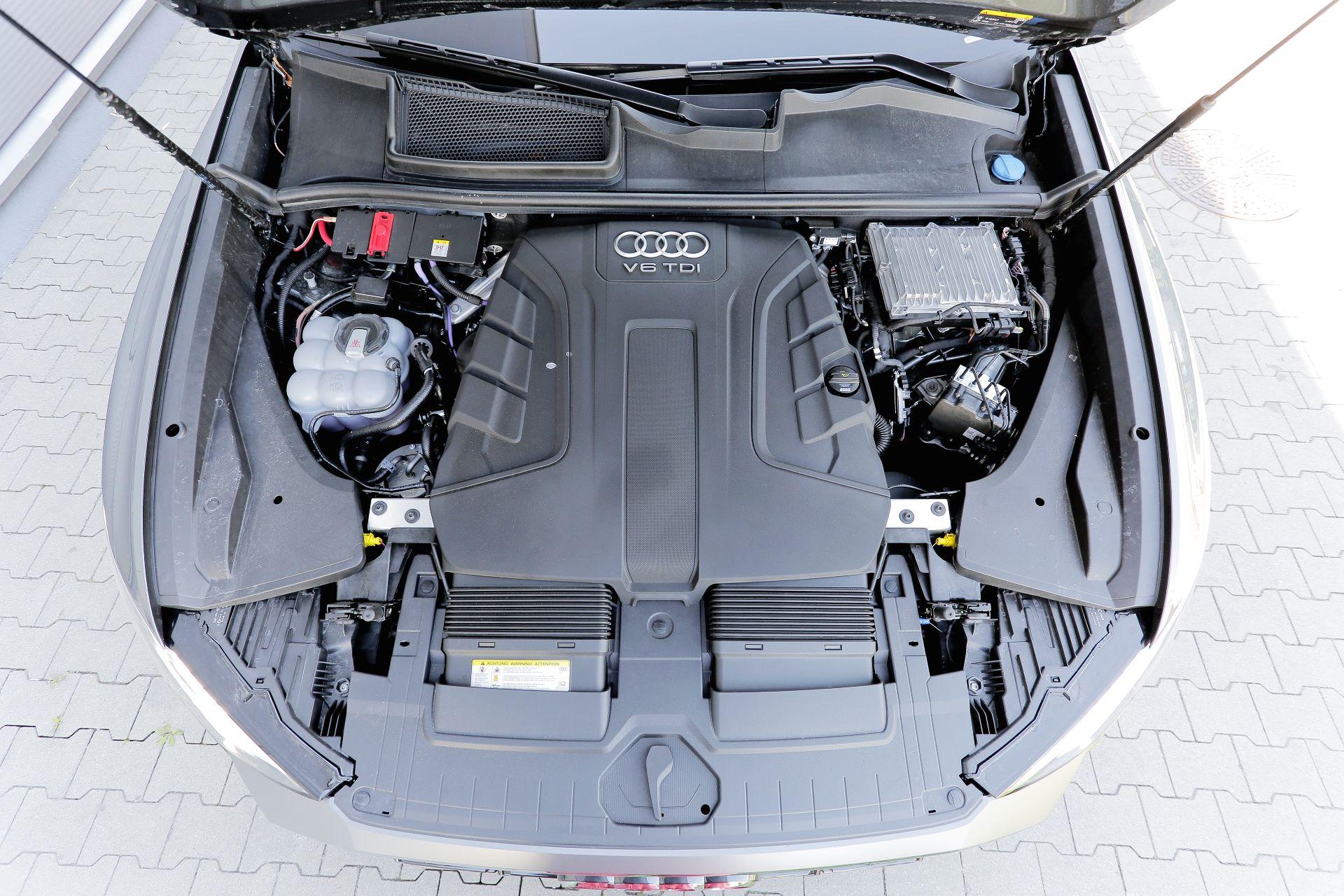 Audi Q8 - silnik