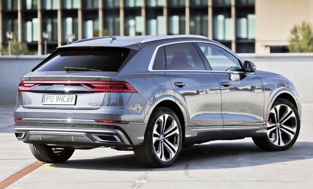 Audi Q8 - tył