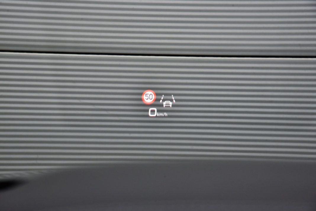 Audi Q8 - wyświetlacz head-up