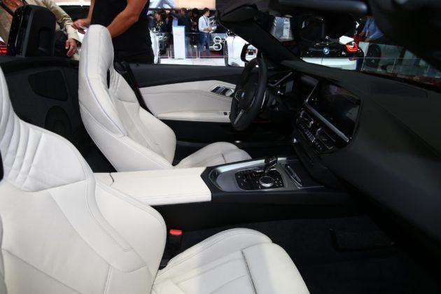 BMW Z4 wnetrze