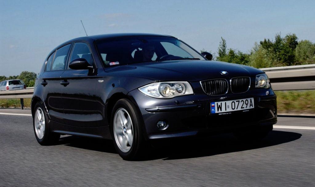 BMW serii 1 - dynamiczne