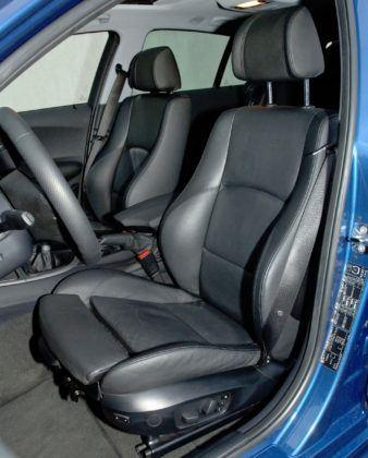 BMW serii 1 - fotel kierowcy