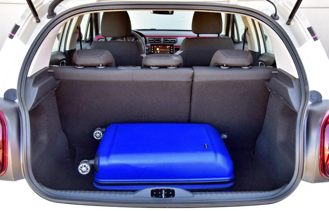 Citroen C3 - bagażnik
