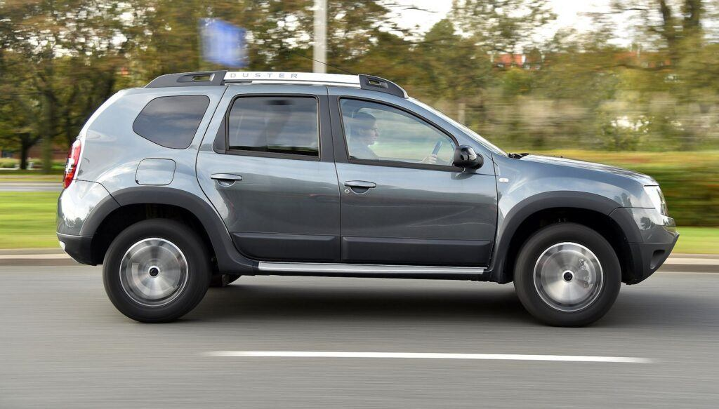 DACIA Duster I FL Outdoor 1.5dCi 109KM 6AT EDC WE266PX 10-2017