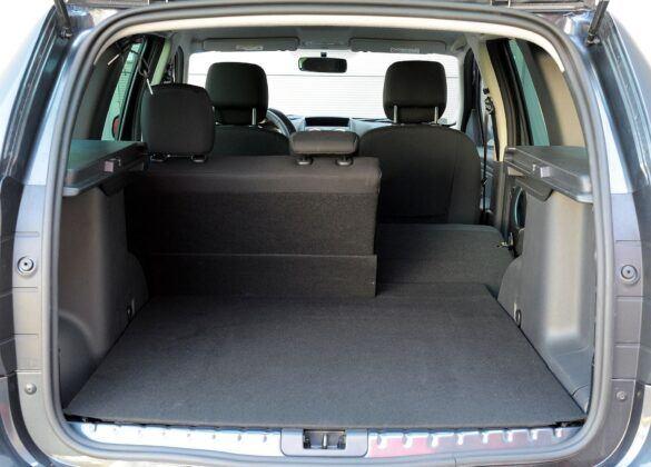 Dacia Duster I bagażnik