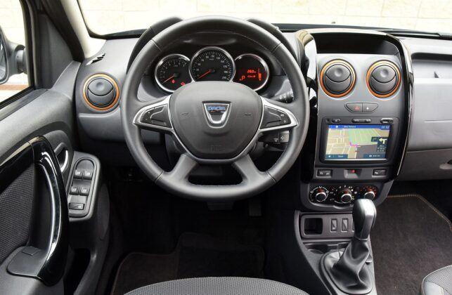 Dacia Duster I deska rozdzielcza