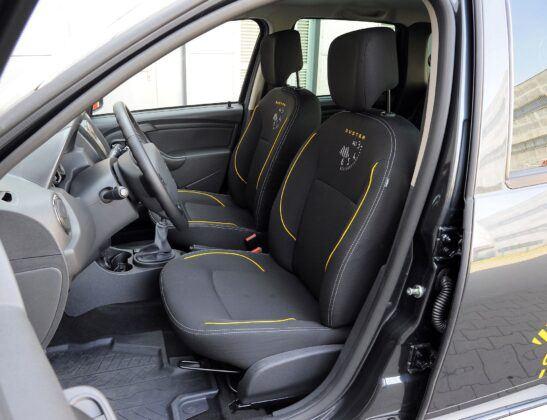 Dacia Duster I fotel kierowcy