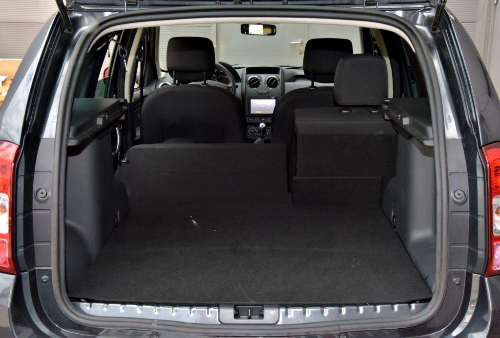 Dacia Duster - bagażnik