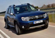 Dacia Duster - dynamiczne