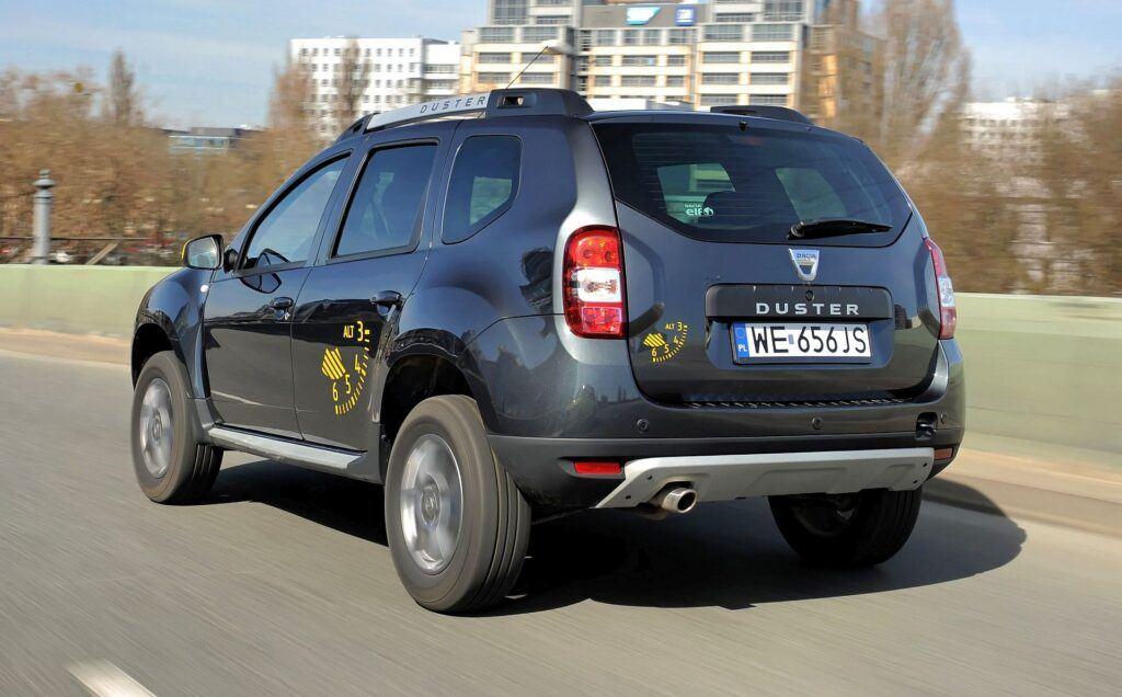 Dacia Duster - dynamiczne (4)
