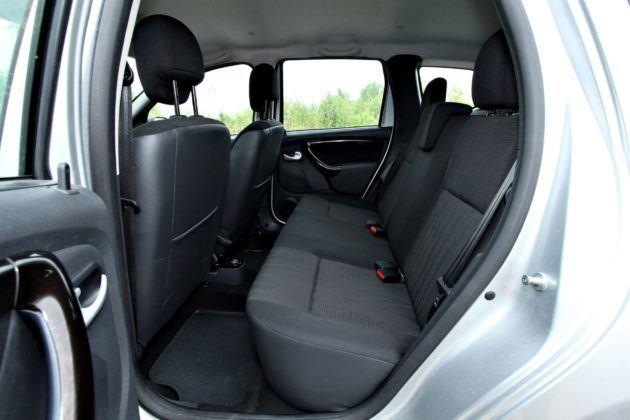 Dacia Duster - kanapa