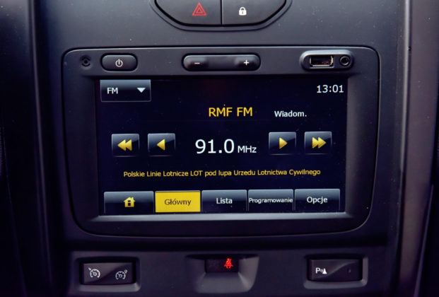 Dacia Duster - multimedia