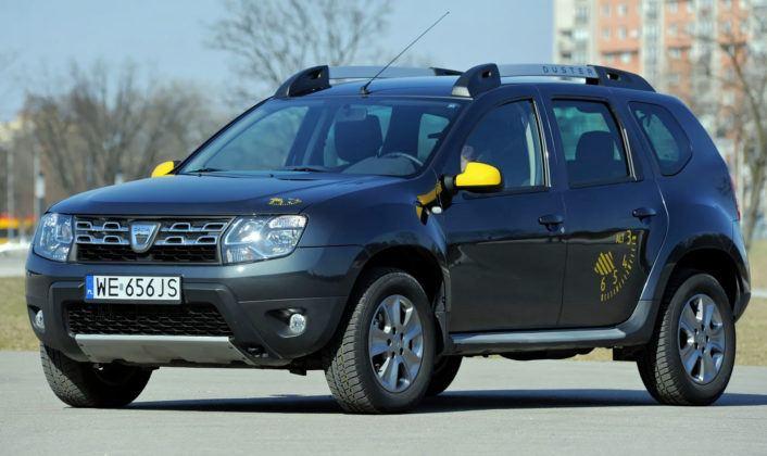 Dacia Duster - przód FL