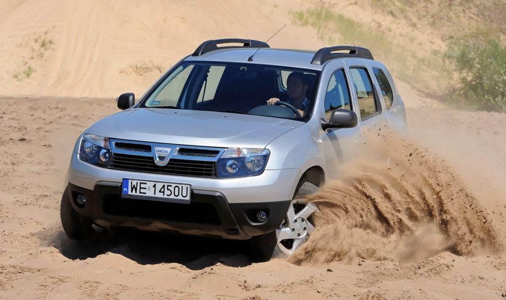 Dacia Duster - terenowe