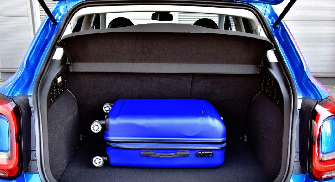 Fiat 500X FL - bagażnik