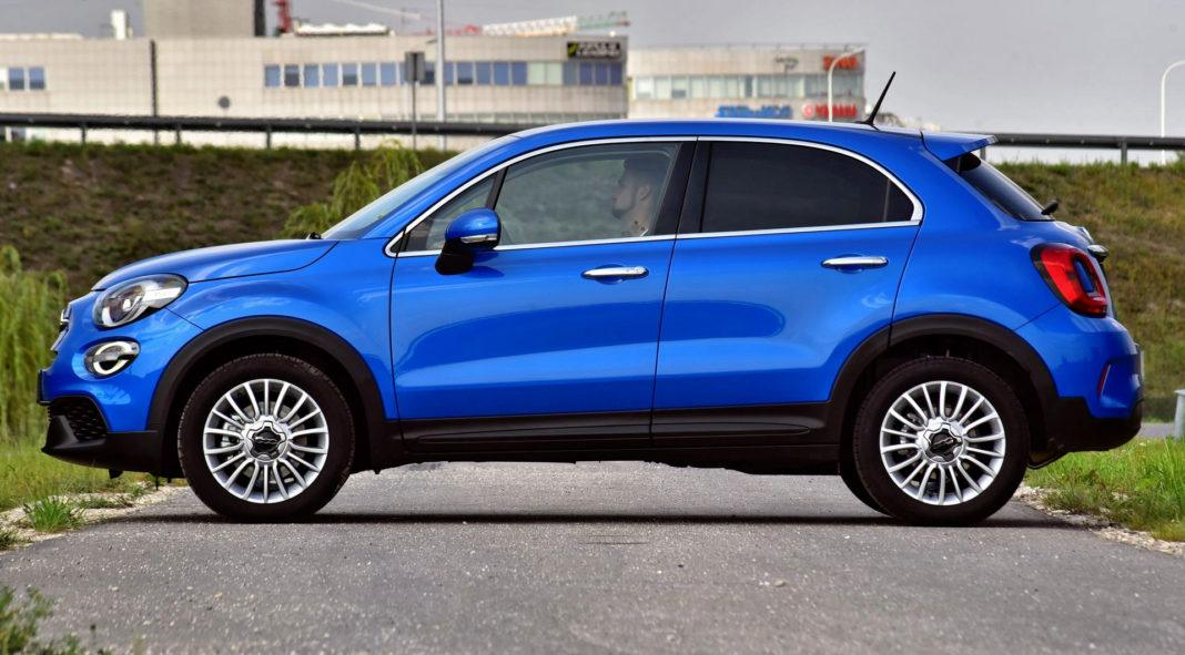 Fiat 500X FL - bok
