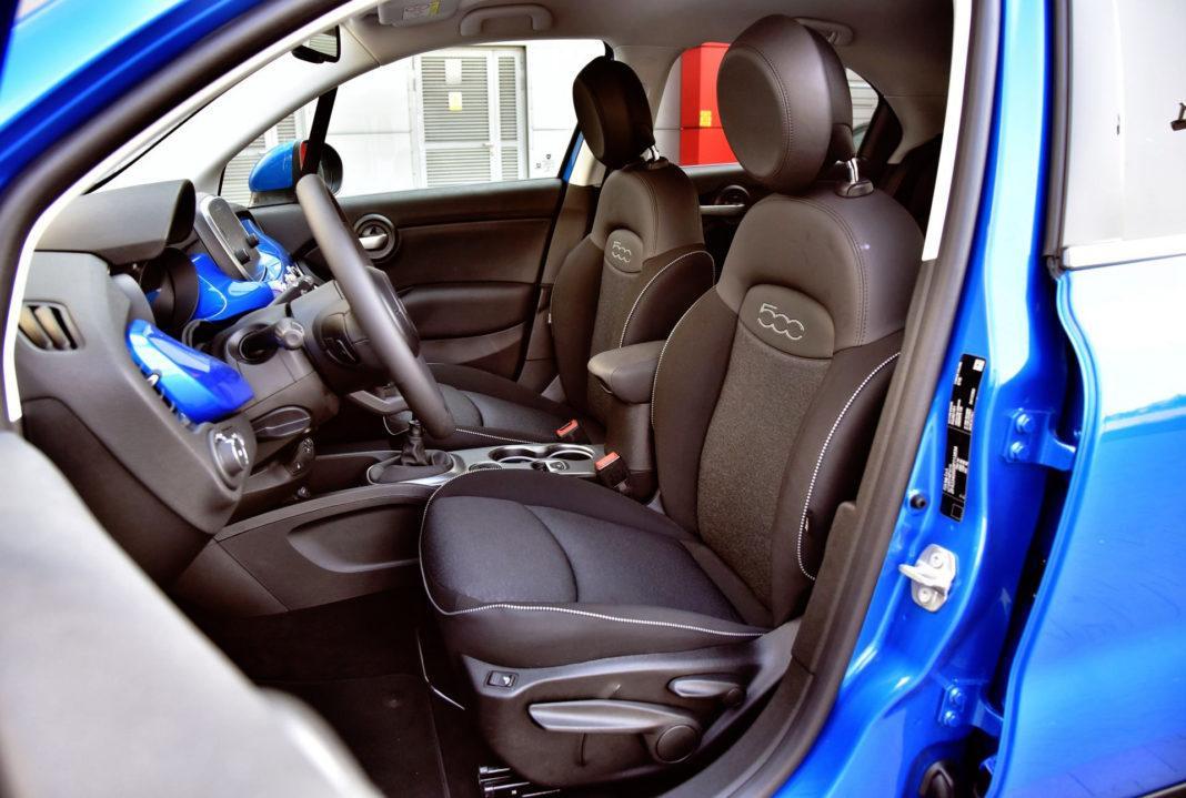 Fiat 500X FL - fotel kierowcy
