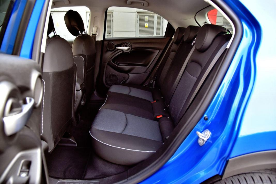 Fiat 500X FL - kanapa